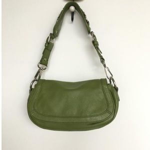 Banana Republic Leather Handbag EUC-1 time use